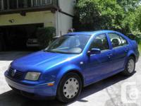 2001 Volkswagen Jetta - Wolfsburg edition  Drives well,