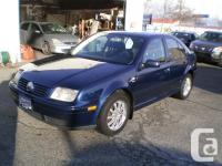 Make. Volkswagen. Version. Jetta. Year. 2001. Colour.