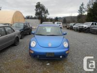 Make Volkswagen Model New Beetle Year 2001 Colour blue