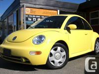 Call Sean   2001 VW New Beetle (Yellow) Local Well