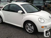 2001 Volkswagen New Beetle GLX Hatchback , 2 door