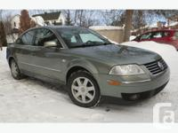 VW Passat, V6 - 30 Valve, 190 HP, the car is in extra