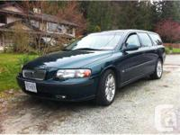 Belcarra, BC 2001 Volvo V70 T5 Wagon This fully
