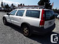 Make Volvo Model XC70 Year 2001 Colour white kms for sale  British Columbia