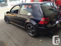 2001 VW Golf For Parts   236,000 KM    Motor size is