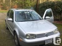 Make Volkswagen Model Golf Year 2001 Colour Solver kms