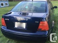 Make Volkswagen Model Jetta Sedan Year 2001 Colour