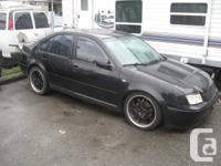 HELLO I HAVE A 2001 VW JETTA VR6 FOR SALE  GOOD: AROUND