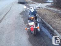 Looking to sell my yamaha v-star 1100. Bike has