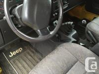 Make Jeep Model Wrangler Colour Yellow Trans Manual