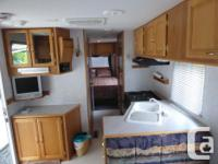 2002 25' Frontier Travel Trailer This is a 2002 25'