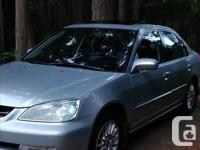 Make Acura Year 2002 Colour Silver Trans Manual kms