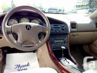 Make Acura Model TL Year 2002 Colour GOLD kms 180000