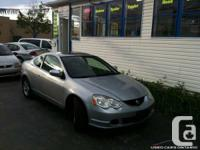 2002 Acura RSX, Silver on Black, Manual , 225400 KM,
