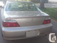 Make Acura Model TL Year 2002 Colour Beige kms 223