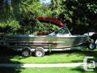 2002 Anderson Jet boat, 96 hours on 350 Kodiak Chevy,