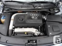 Make Audi Model TT Year 2002 Colour Grey kms 207000