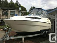 Very well maintained and cared for 24.5 ft Bayliner