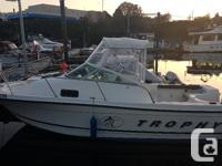 2002 Bayliner Trophy 22 ft with a 2005 Honda 135 hp