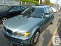 2002 BMW 320I 4DR 153000km AUTOMATIC AIR CONDITION