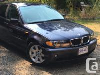 Make BMW Model 320i Year 2002 Colour blue kms 270000