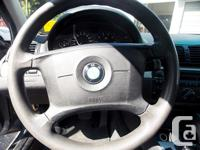 2002 BMW 320i is ready to be taken for a test drive! It