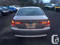 Make BMW Model 745 Year 2002 Colour Brown kms 133000