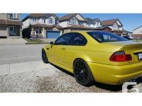 Make BMW Model M3 Year 2002 Colour yellow kms 120000