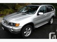 West Vancouver, BC 2002 BMW X5 4.4 Premium This