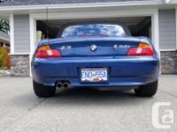 Make BMW Model Z3 Year 2002 Colour Blue kms 54000