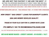 www.richmondautoloans.com.  Acquire Pre-approved and