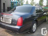 Make Cadillac Model DeVille Year 2002 Colour BLUE kms