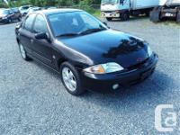 Make Chevrolet Model Cavalier Year 2002 Colour black