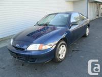 2002 Chevrolet Cavalier  Blue / Gray 2002 Chevrolet