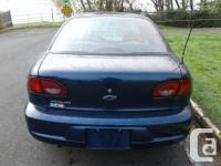 Make Chevrolet Model Cavalier Year 2002 Colour Blue