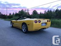 Make Chevrolet Model Corvette Year 2002 Colour yellow
