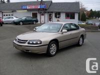 Make. Chevrolet. Version. Impala. Year. 2002. 2002