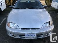 Make Chevrolet Model Cavalier Year 2002 Colour Silver
