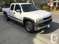 Make Chevrolet Year 2002 Colour White Trans Automatic