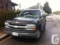 2002 Chevy Tahoe   Reliable family vehicle, 9 seats.
