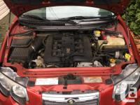 Make Chrysler Year 2002 Colour Red Trans Automatic kms