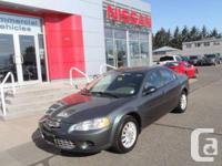 This Chrysler sebring was owned by and older couple who