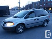 2002 Dodge CARAVAN SE, 3.3L Automatique, Air climatise,