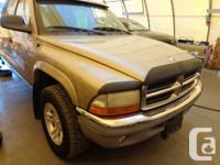 Make Dodge Model Dakota Year 2002 Colour brown kms