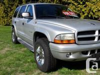 Make Dodge Model Durango Year 2002 Colour Silver kms