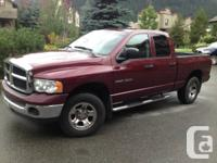 2002 Dodge Ram 1500 4wd for sale.  208,000 km. Runs