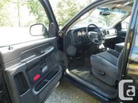 Make Dodge Model Ram 1500 Year 2002 Colour Black kms