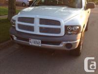 Make Dodge Model Ram 1500 Colour White Trans Automatic