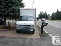 Courtice, ON 2002 Ford F-450 Cube Van $14,999 This cube