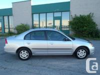2002 Honda Civic, Argent,166 000 km, automatique 3
